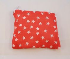 Red and White Stars Fabric Coin Purse £4.00