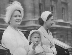 Queen Mother, Princess Margaret and Princess Anne, 1950s