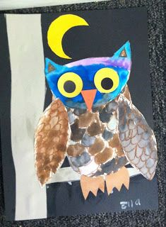 ART with Mrs. Smith: owls