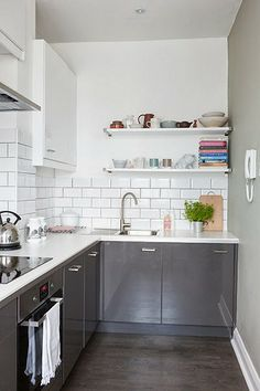Small galley kitchen | little birdie: lovely spaces
