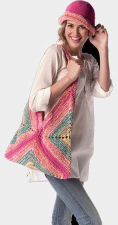to do - crochet summer bag