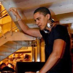 The Dopest POTUS! hand, music, dj obama, white houses, peopl, birthday parties, presid, rock stars, barack obama