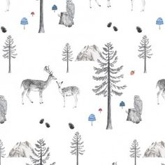 Wall Paper - Sleeping in the Woods