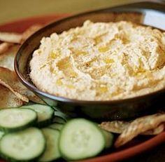 cumin and garlic hummus