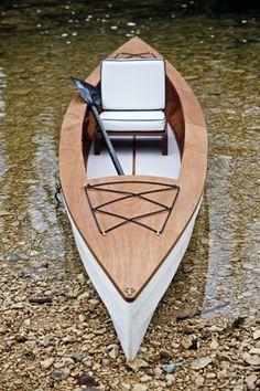 JT Van Zandt designed TX creek boat.