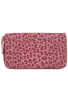 Leopard bag -- Pink
