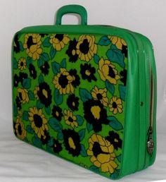 Vintage suitcase 1960's