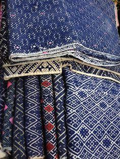 Indigo patterns from Vietnam
