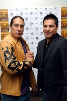 Native American, Lakota, Actors Michael & Eddie Spears