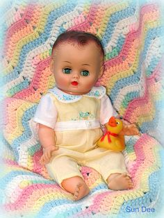 Sun Rubber doll 1956