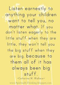 words to live by word of wisdom, remember this, parenting tips, little ones, listening skills, children, thought, quot, kid