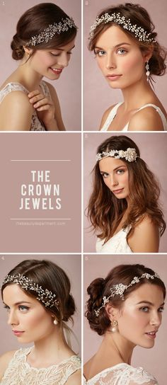 crown ideas for wedding hair
