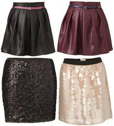 Winter: skirt