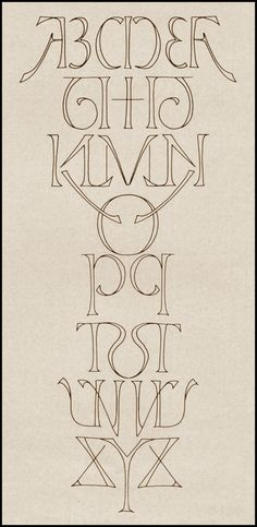 Mirror Alphabet by Scott Kim