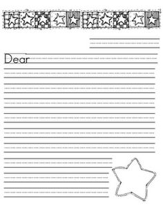 Writing paper printables