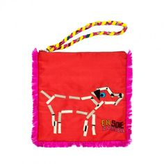 En Soie Dog wallet, $119
