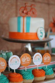 Bicycle Birthday Party - www.pinkadotshop.com