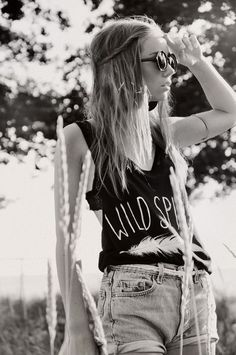 fashion, summer looks, style, high waisted shorts, summer outfits, wild spirit, wild child, shirt, hipster outfits