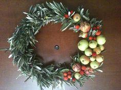 Corona di Natale corona di, lavori manuali, di natal