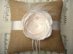 Bulap Ring Bearer Pillow