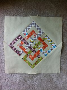 block for Bee Modern Too  #quilt #block #bee #swap #handmade #sewing