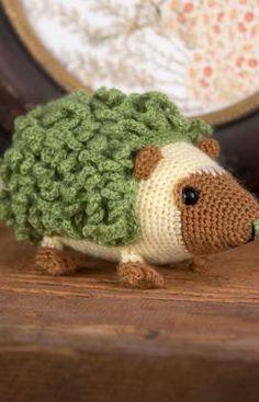Harold the Hedgehog - free crochet pattern
