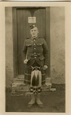 Seaforth Highlanders WWI