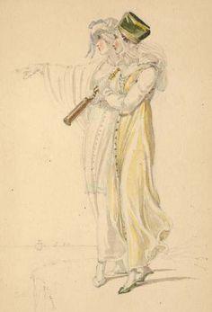Walking dress 1810