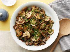 Lemon-Pepper Mushrooms Recipe : Food Network Kitchen : Food Network - FoodNetwork.com