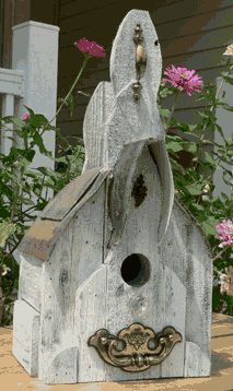 Cool Bird Houses On Pinterest Birdhouses Rustic