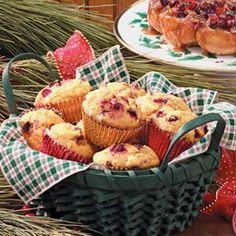 Cranberry Pumpkin Muffins Recipe