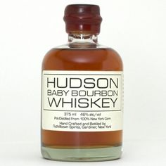 HUDSON BABY BOURBON is the first bourbon whiskey to be distilled in New York