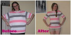 Adventures of Lauren: Men's striped shirt, #37