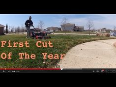 First Lawn Mowing Of The Year: Step By Step... cutting your lawn for the first time this season - Lawn Care tips