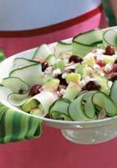 salad recipes, cucumber salad, summer salads