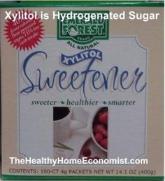 xylitol - not all it's cracked up to be