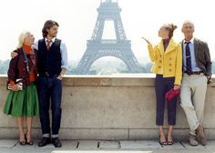 Paris Catalog Shoot! Who remembers this one?