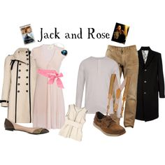 Jack and Rose - Sinking, created by marybethschultz on Polyvore