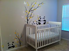 Pandas :) Maybe one day if we add to our family again... I am all set for this theme haha