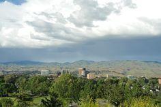 Rolling Hills in Boise Idaho