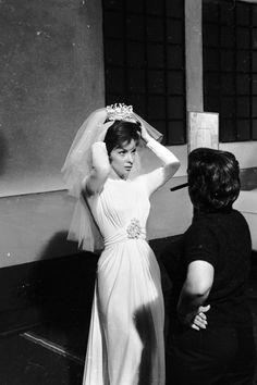 """Gina Lollobrigida during """"Come September"""" (1960)"""