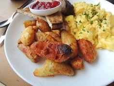 Eggs & Potatoes at Superba Snack Bar (Los Angeles, CA). #UniqueEats #breakfast #eggs