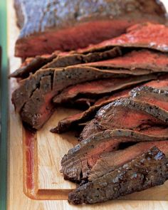 Flank Steak with Onions, Peppers, and Beans Recipe