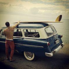 classic / photo by felipesiebert surf shop, beach cruisers, surfs up, endless summer, classic cars, wheel, vintage cars, at the beach, vintage style