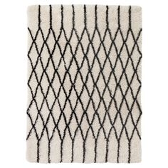 Target Threshold Criss Cross Shag Area Rug.
