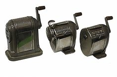 COLLECTION OF VINTAGE PENCIL SHARPENERS