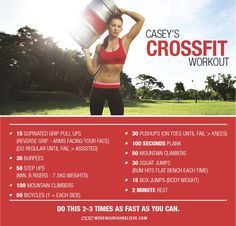Crossfit Workout xx http://www.movenourishbelieve.com/move/caseys-crossfit-workout-our-active-living-advocate-reveals-her-fave-way-to-move/ Workout Exercise, Crossfit Workout Workout, Casey Shorts Workout, Casey Crossfit, Workout Crossfit, Workout Xx, Crosses Fit, Activities Living, Weights Loss