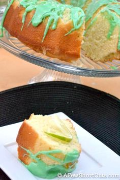 Delicious Key Lime Pound Cake #Recipe