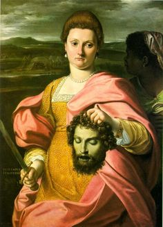 Agostino Carracci - Judith with the head of Holofernes