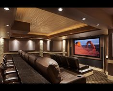 Ceiling, rock, lighting and the mood.    Home Theatre And Media Design And Installation Design, Pictures, Remodel, Decor and Ideas